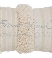 "Cuscino ""Boho Chic Collection"" Blanc Mariclò"
