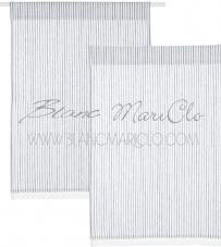 "Canovaccio/tendina ""Stripe Mediterraneo Collection"" Blanc Mariclò"