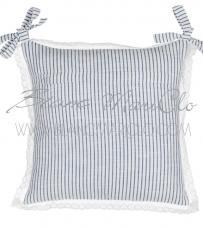 """Copricuscino sedia """"Stripe Mediterraneo Collection"""" Blanc Mariclò"""