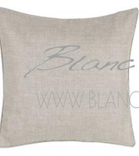 "Cuscino marrone con piping ""Coral Collection"" Blanc Mariclò"