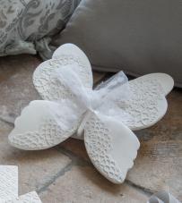 "Farfalla profumata in gesso fragranza ""Marquise"" Mathilde M."