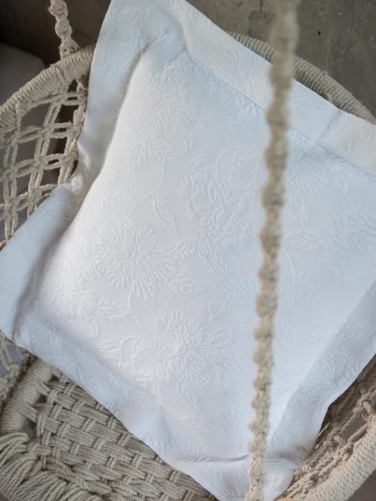 Copricuscino bianco
