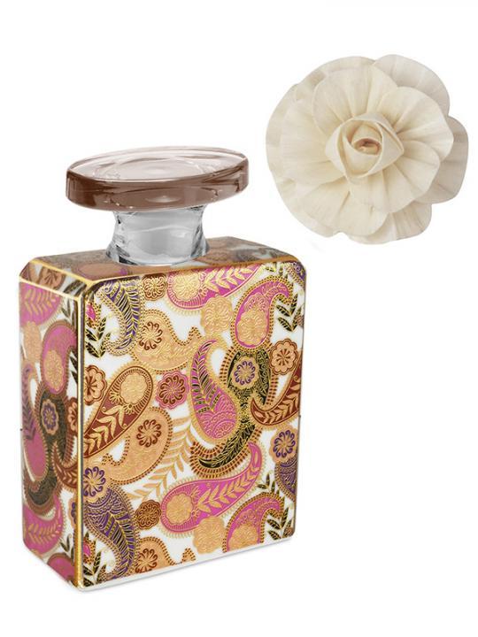 Bottiglia diffusore 100 ml con fiore