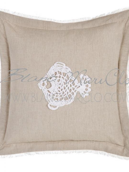 Cuscino pesce crochet