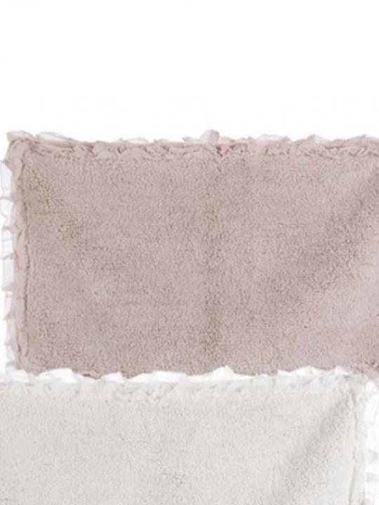 Blanc Mariclò tappeto rosa