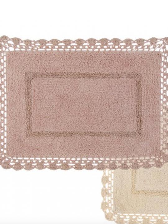 Tappeto rosa Rettangolare