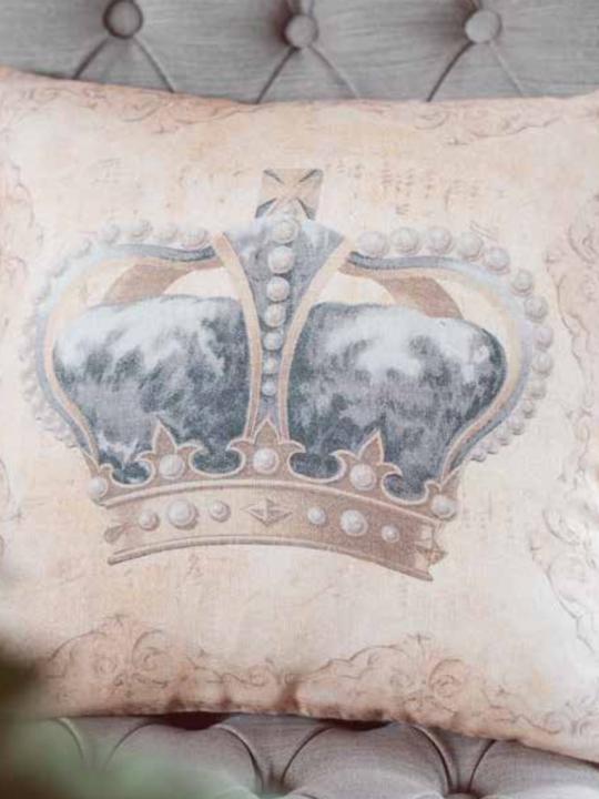 Blanc Mariclò Cuscino Corona