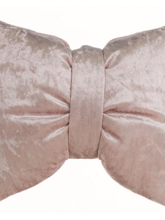 Cuscino fiocco rosa