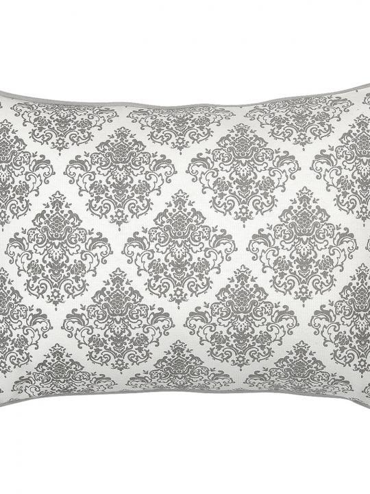 Cuscino bianco e grigio