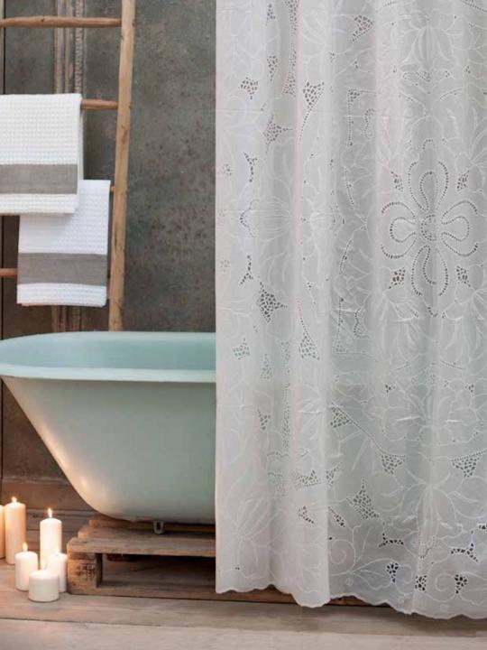 Tenda vasca/doccia in vinile