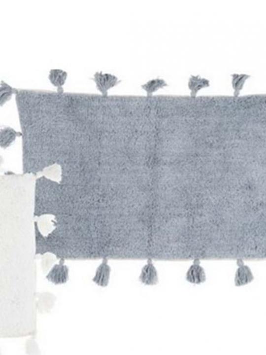 Blanc Mariclò tappeto azzurro
