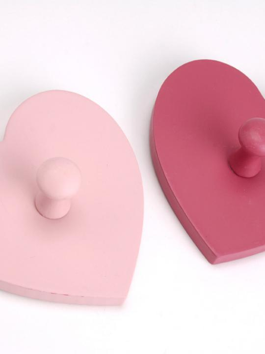 Set 2 appendini cuore