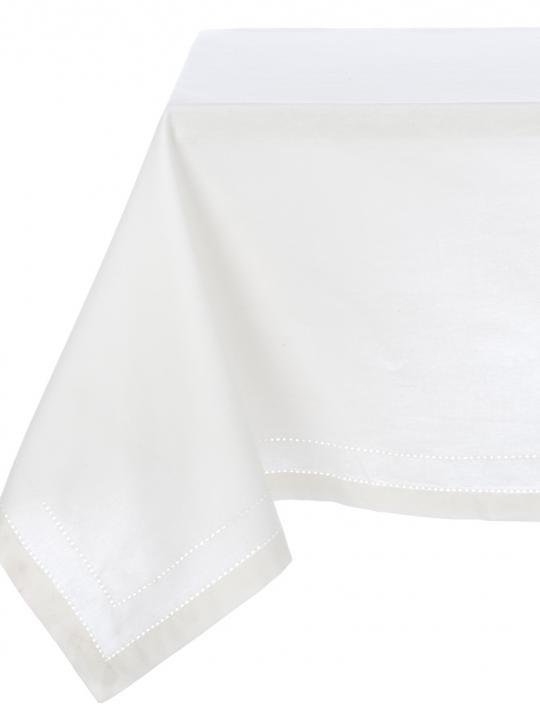 Tovaglia punto a giorno bianca Blanc Mariclò