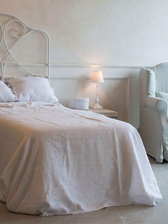 Testata letto bianca