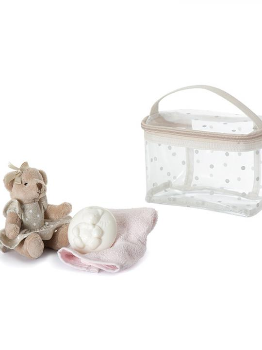 Trousse regalo rosa