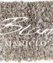 "Tappeto rug tortora ""Eclat"" Blanc Mariclò"